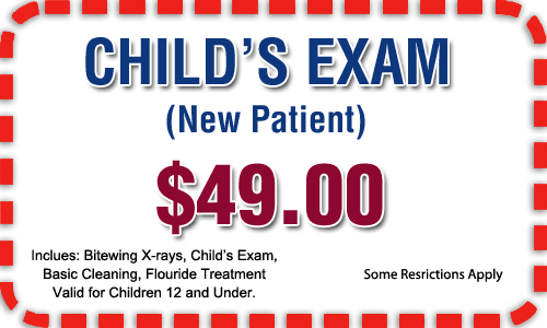Special child's exam old